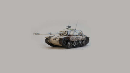 BAT CHATILLON Bourrasque WoT tank 1:35 Resin Kit - ResinScales