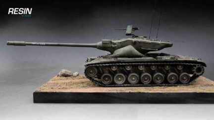 T57 WoT tank 1:35 scale Resin Kit - ResinScales