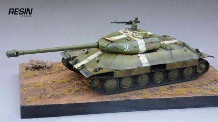 IS-6 WoT 1:35 scale Resin Kit ready made tank model - ResinScales
