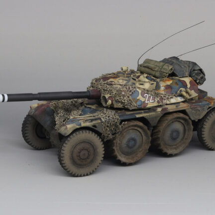 EBR-105 World of Tanks 1:35 scale Resin Kit ready made tank model - ResinScales