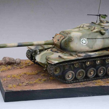 M103 World of Tanks 1:35 scale Resin Kit ready made tank model - ResinScales