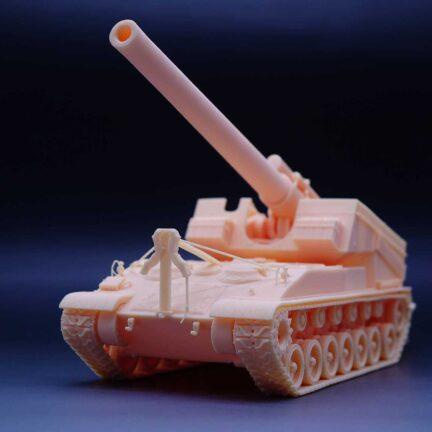 T92 HMC World of Tanks 1:35 scale Resin Kit ready made tank model - ResinScales